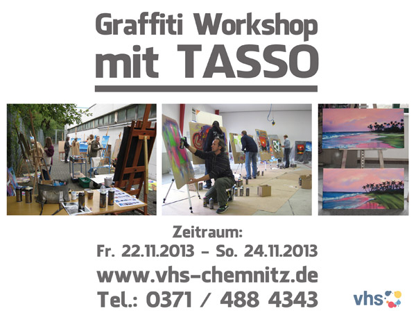 Graffiti Workshop mit TASSO